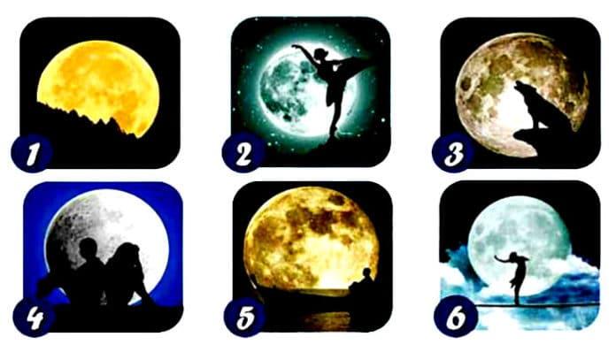 Vaš omiljeni Mjesec otkriva vašu osobnost, sposobnost i daje poruku!