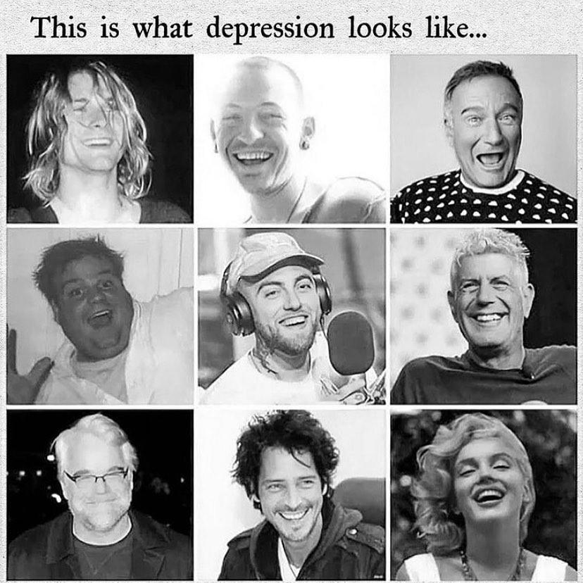 Ovako izgleda depresija