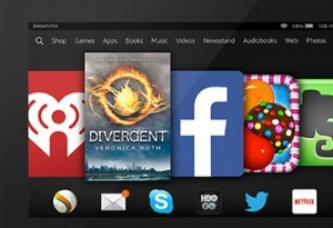 Kindle Fire abroad