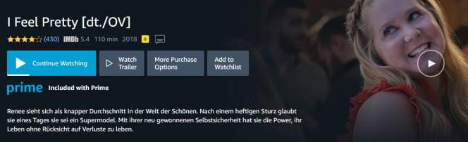 Here I am watching Amazon Prime in Germany without any error message