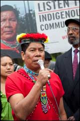 We're Back! Help Ecuadorians Occupy Chevron Shareholder Meeting