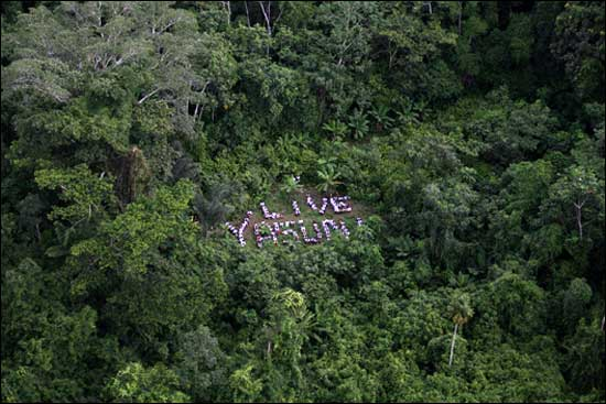 Ecuadorians Outraged with President's Decision to Allow Drilling in Yasuní