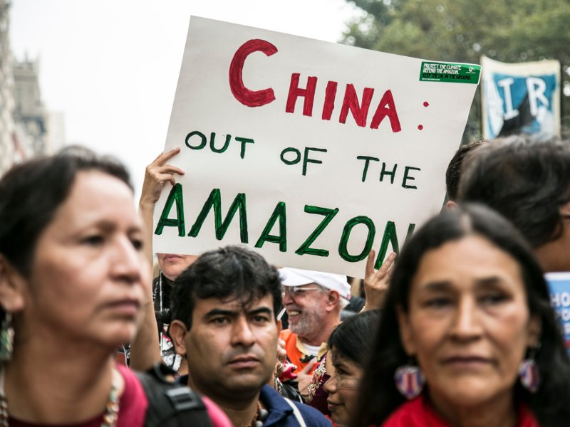 China Out of the Amazon!