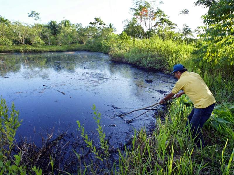 Chevron's ongoing contamination in Ecuador