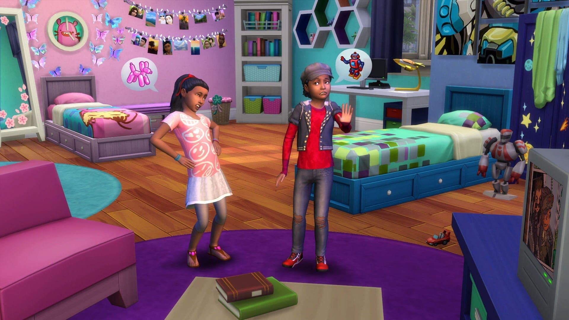 Test Les Sims 4 Chambre D Enfants Amaz Sims