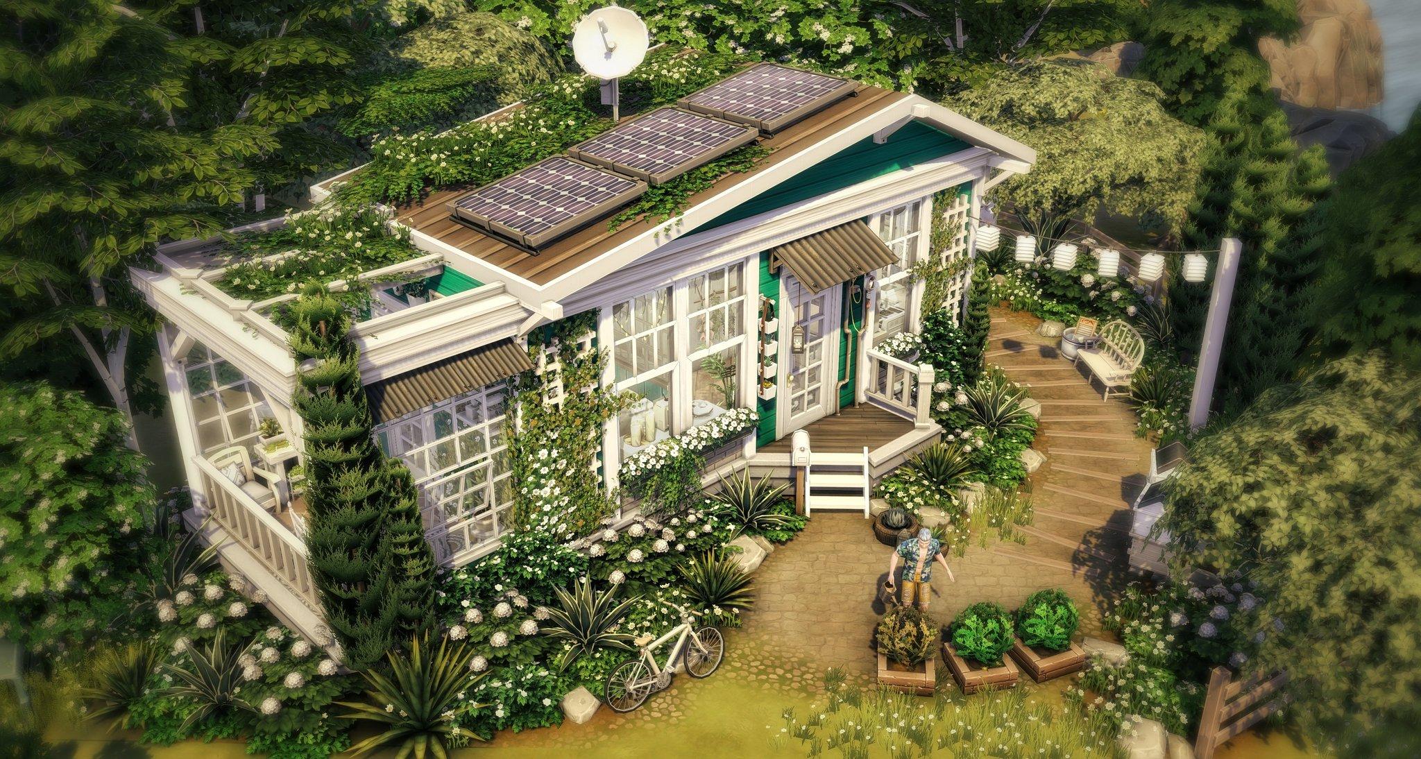 Petite Maison Durable Telechargement Terrain Sims 4 Amaz Sims