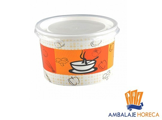 Bol pentru supa din carton