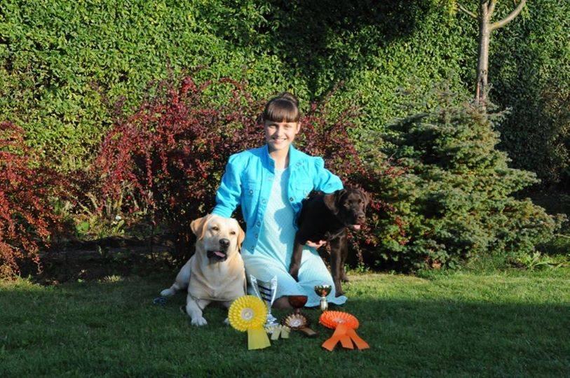 Bella Donna ir mažylė Deli su laimėjimais nacionalinėje Kauno parodoje