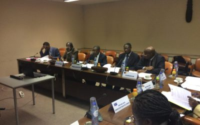 RÉUNION DE COORDINATION DES MISSIONS DIPLOMATIQUES DE LA RÉGION DE L'AFRIQUE CENTRALE (ACP).