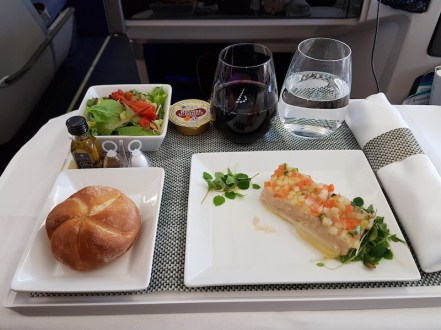 brussels-airlines-business-class-food Zo vlieg je in business class met Brussels Airlines