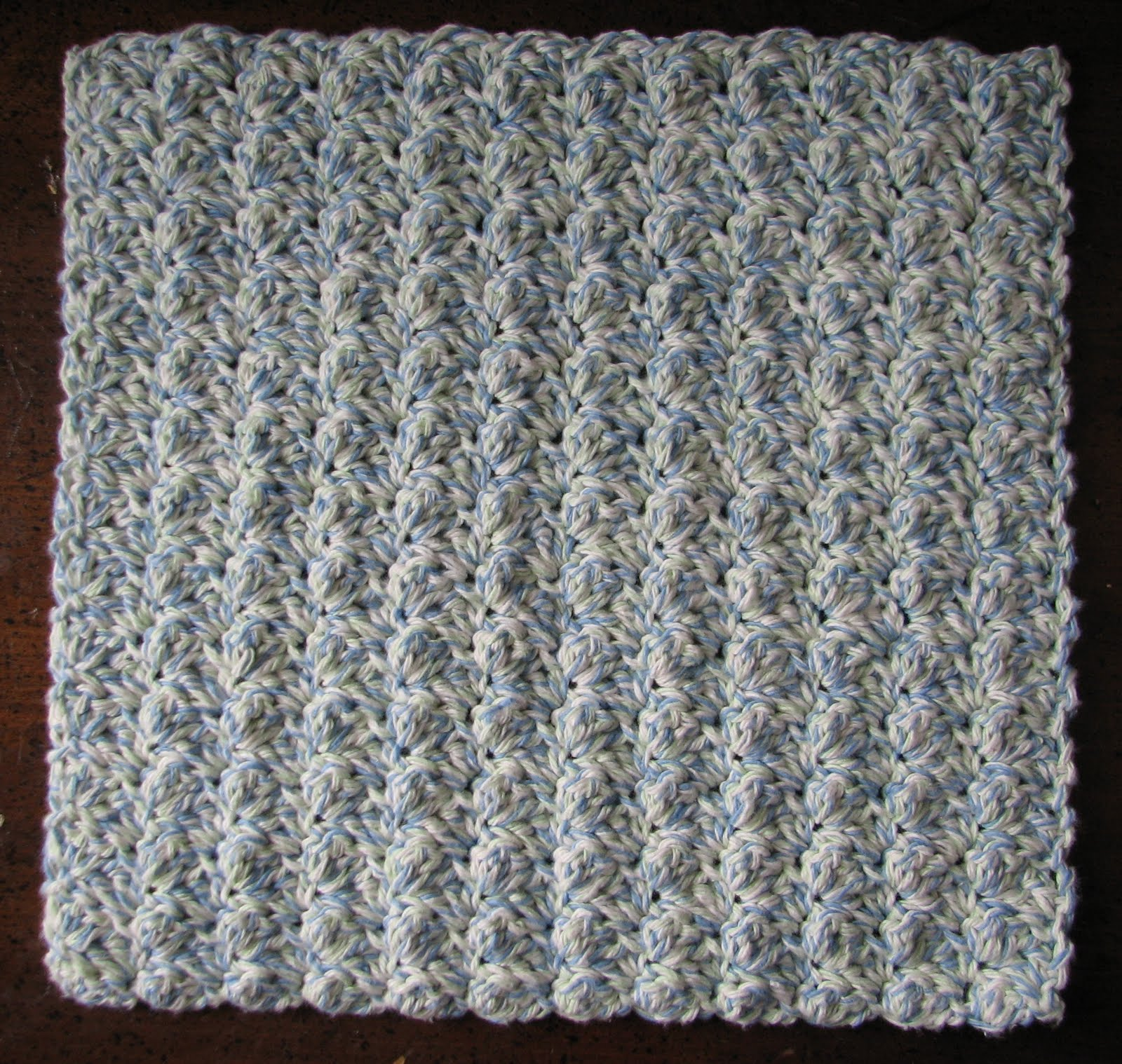 Ripple Stitch Dishcloth Ambassador Crochet