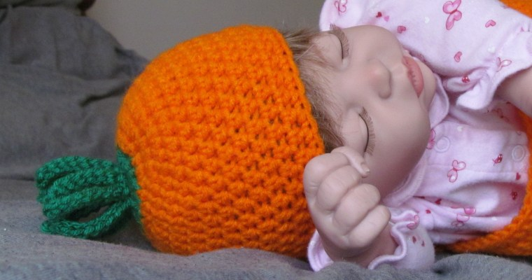 Spring Carrot Cocoon Free Crochet Pattern