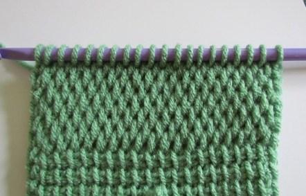 Tunisian Net Stitch