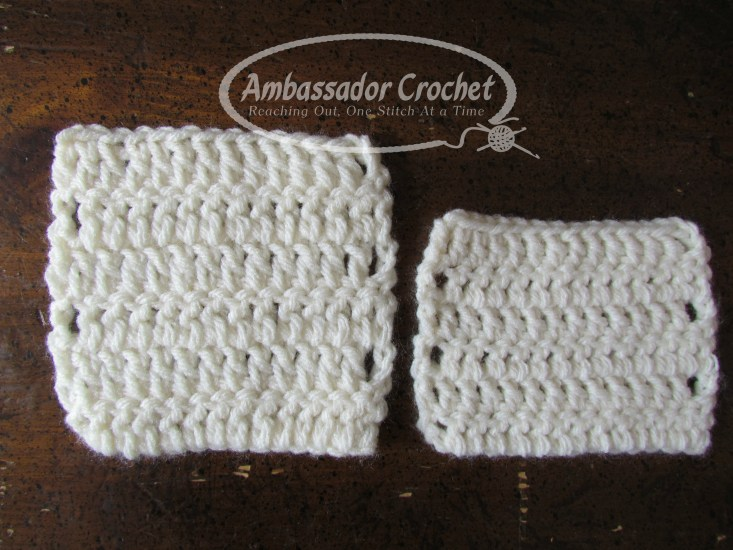 Your crochet gauge is important and here's why....