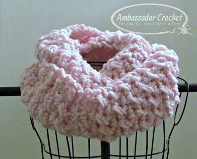 Oversized Chunky Infinity Scarf Pattern Ambassador Crochet
