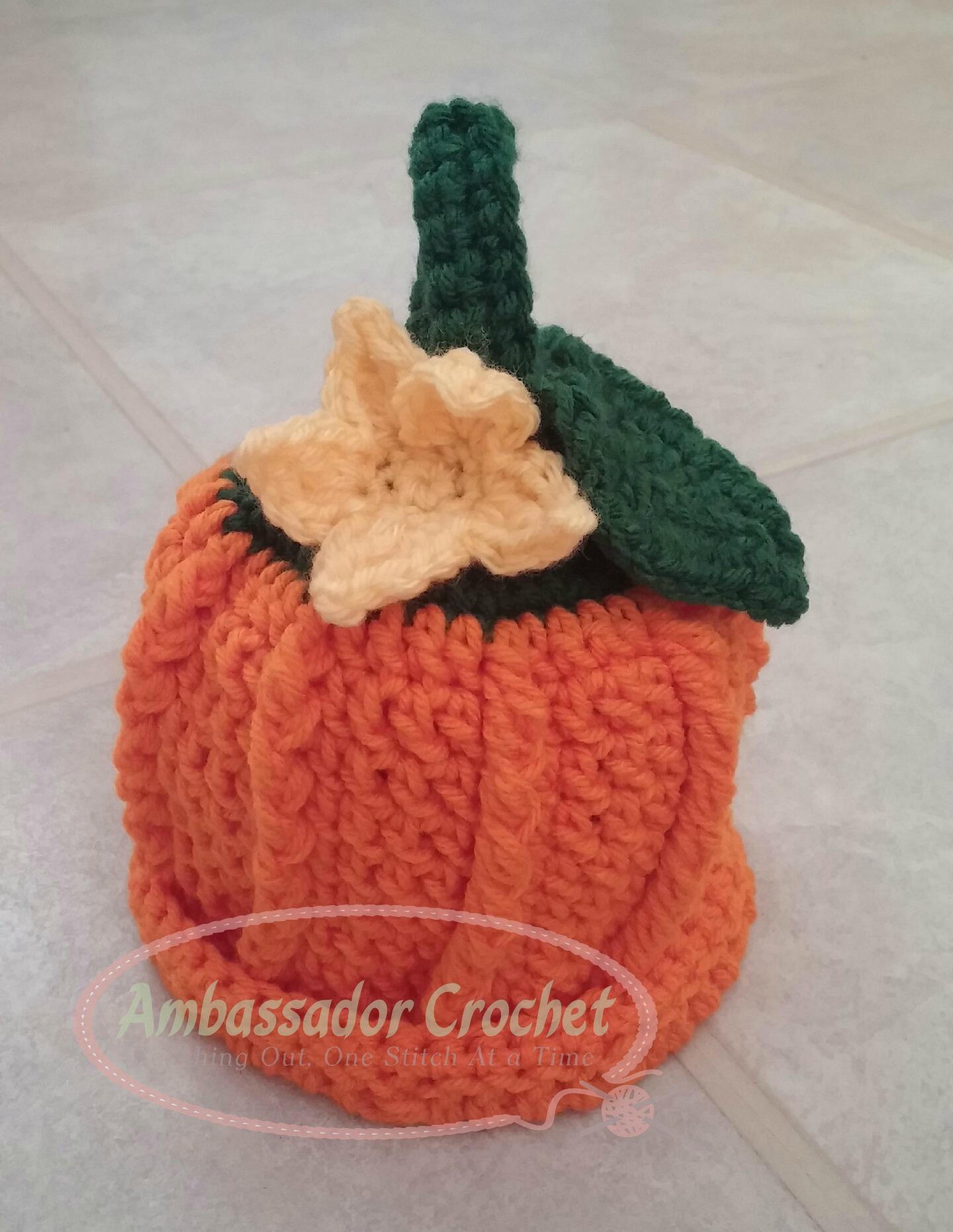 Pumpkin Hat Pattern Re Release Ambassador Crochet