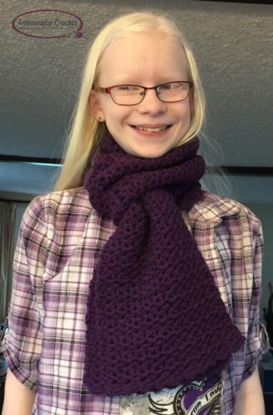 Grapevine Scarf - free crochet pattern - Design by Ambassador Crochet