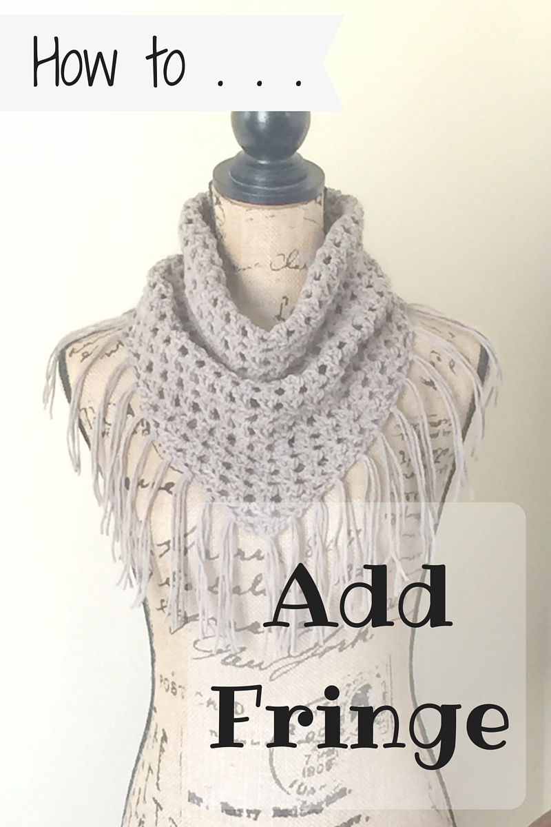 How To Add Fringe To Your Crochet Project Ambassador Crochet