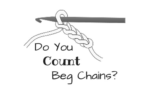 Do You Count Beg Chain as a Stitch? - Some simple ways to decipher what the designer is thinking.