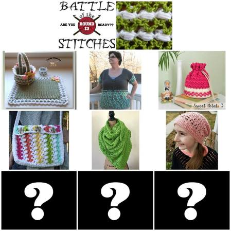 Battle of the Stitches Round 13 blog hop.