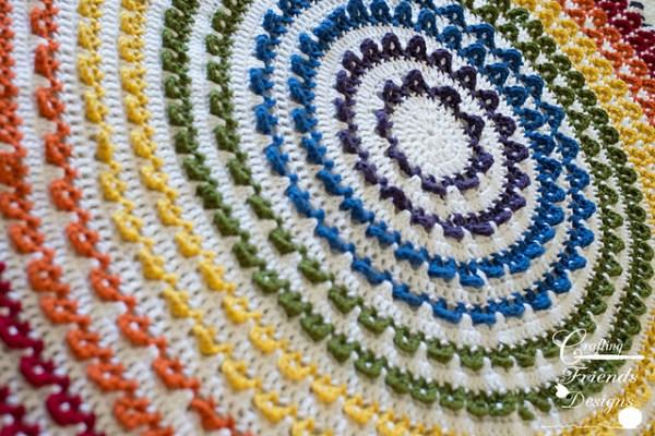 Loop the Loop afghan pattern by Crafting Friends Designs