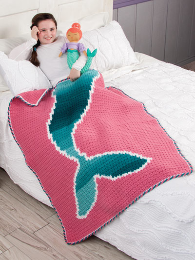 Tails of the Sea - octopus children's crochet blankets - book review by Ambassador Crochet.
