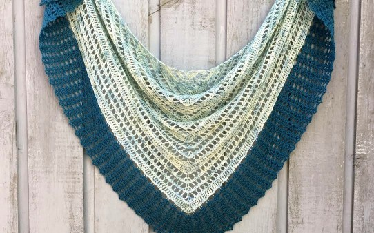 Breath of Life shawl by Ambassador Crochet