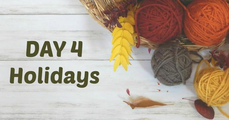 Thankful for Holidays – Day 4