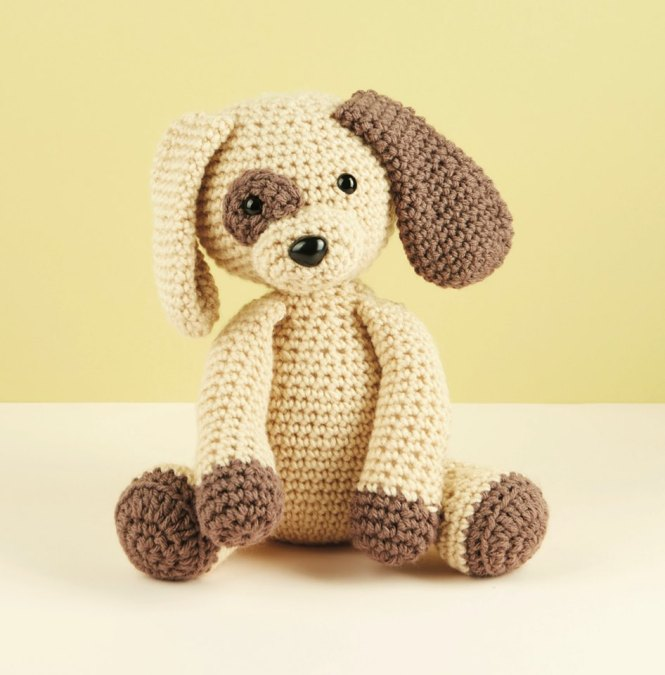 Ravelry: Cuddle Me Puppy pattern by Sharon Ojala | 675x665