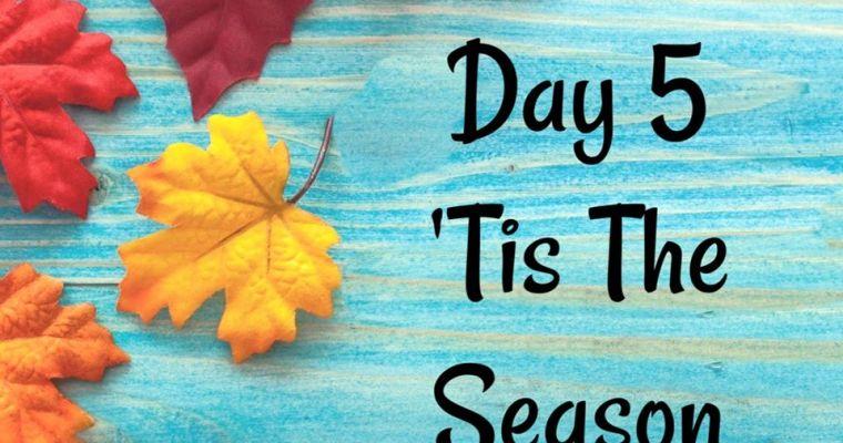 10 Days of Thanksgiving – Tis the Season {Day 5}