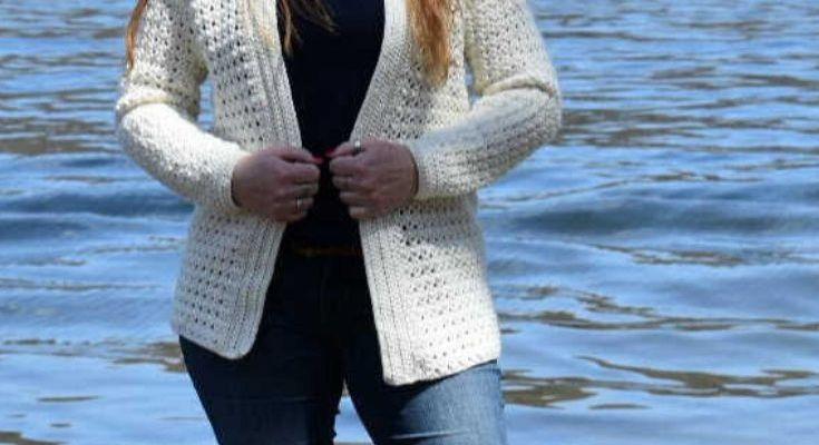 Berry Bliss Cardigan Crochet Pattern
