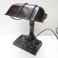 vintage art deco desk lamp industrial bakelite