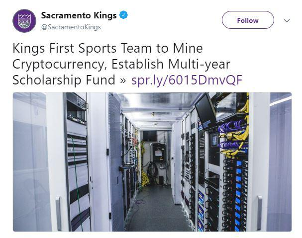 Sacramento Kings Twitter post | Source: Twitter