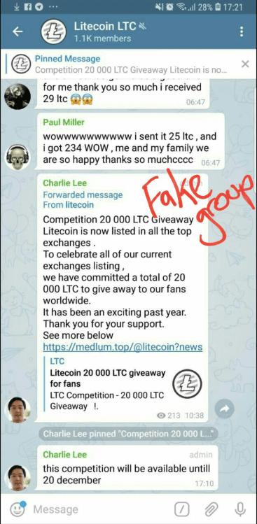 Charlie Lee's Tweet   Source: Twitter