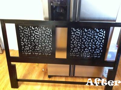 Furniture Friday – DIY Before & After DIY Headboard