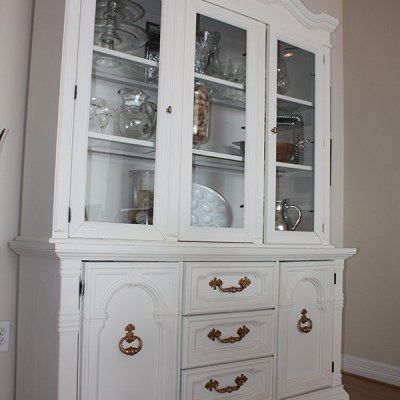 Dining Room + China Cabinet Makeover