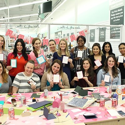 Galentine's Day Craft Party