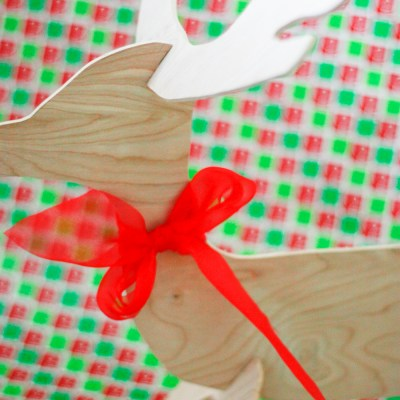 DIY Reindeer – How to use a scroll saw! (Video)