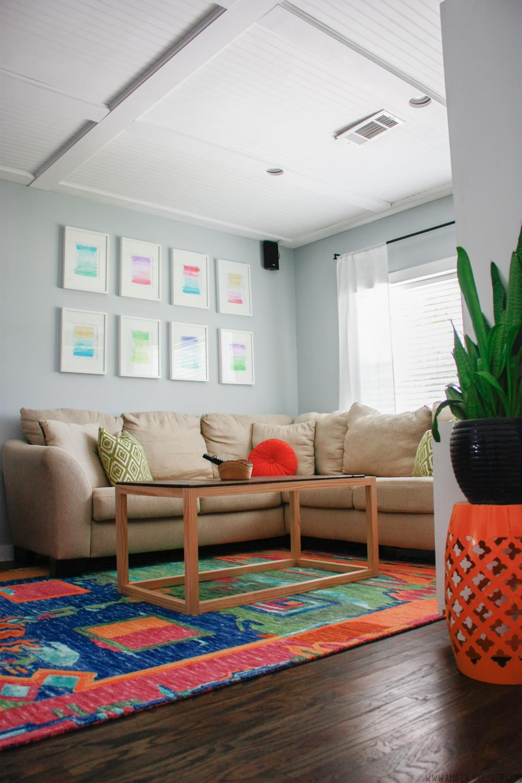 One Room Challenge: Week 6 – Living Room Makeover Reveal | Amber Oliver
