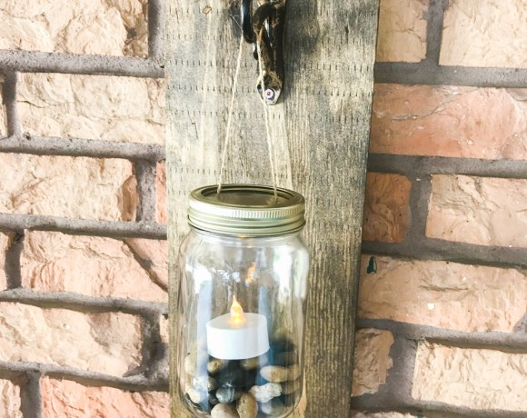 How to make a beautiful DIY Rustic Candle Holders!