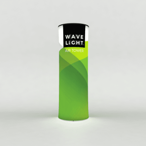 WaveLight Air Backlit Inflatable Circular Tower