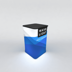 WaveLight Air Inflatable Backlit Portable Counter