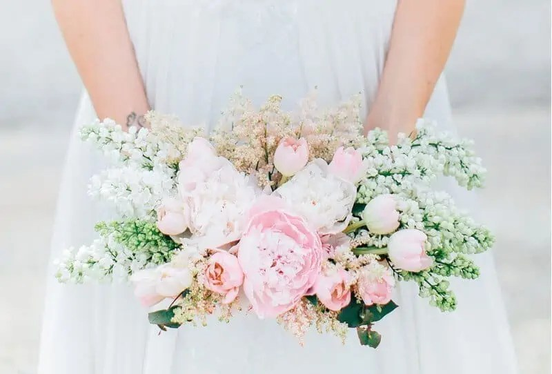 Peony Wedding Inspiration by Diana Frohmüller