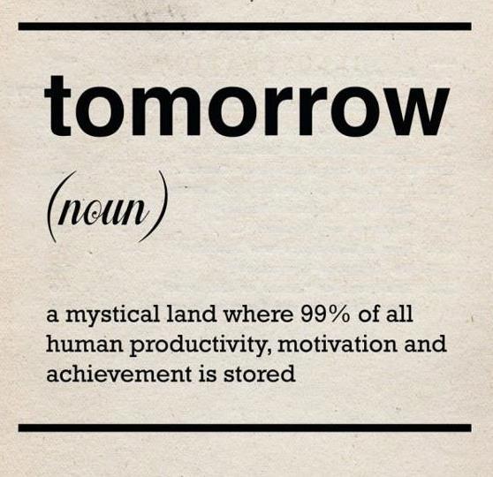 A Post on Procrastination