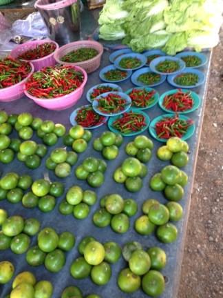 limes, Thai chilies