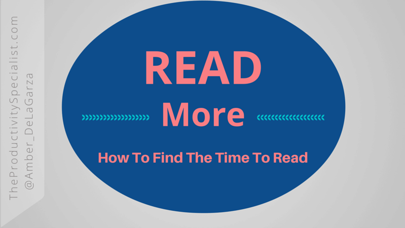 Read More: How To Find The Time To Read