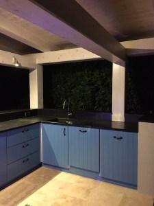 Exterior kitchen