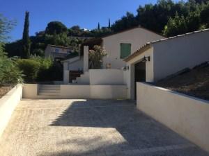 Retaining walls, St.Tropez,