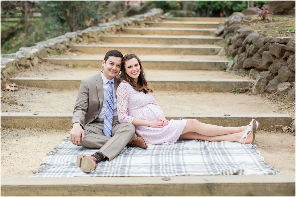 California State University Chico-Spring Blossoms-Maternity Session,