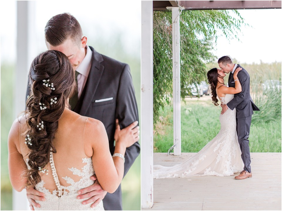 Red Rock Lake Events Orland California Wedding Barn Fire Truck,
